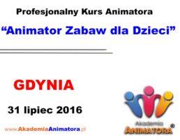 Szkolenie Animatorów Gdynia – 31.07.2016