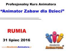 Szkolenie Animatorów Rumia – 31.07.2016