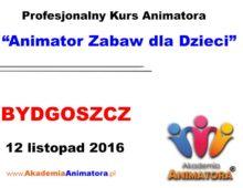 Szkolenie Animatorów Bydgoszcz – 12.11.2016