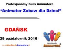 Szkolenie Animatorów Gdańsk – 29.10.2016