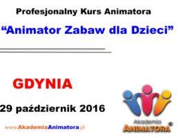 Szkolenie Animatorów Gdynia – 29.10.2016