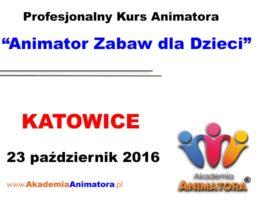 Szkolenie Animatorów Katowice – 23.10.2016