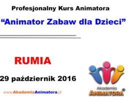 Szkolenie Animatorów Rumia – 29.10.2016