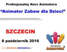 Szkolenie Animatorów Szczecin – 08.10.2016