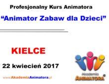 Szkolenie Animatorów Kielce – 22.04.2017