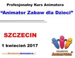 Szkolenie Animatorów Szczecin – 01.04.2017