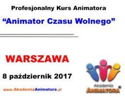 Kurs Animatora Warszawa – 08.10.2017