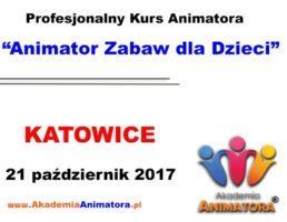 Kurs Animatora Katowice – 21.10.2017