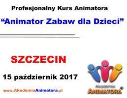 Kurs Animatora Szczecin – 15.10.2017