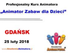 Kurs Animatora Gdańsk – 25.02.2018